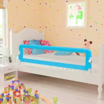 Toddler Safety Bed Rail 150 x 42 cm Blue U1J7