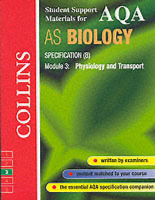 AQA (B) Biology AS3: Physiology and Transport by Michael D.P. Boyle PAPERBACK