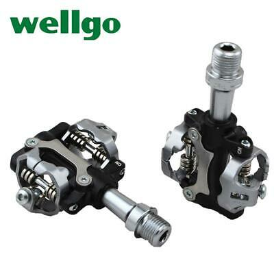 Wellgo W01 MTB Clipless Pedals SHIMANO SPD Compatible