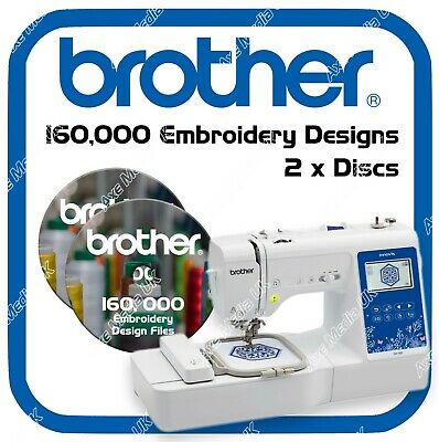 160,000 Embroidery designs - Brother, Baby Lock, Bernina - Disney -  PES on DVD