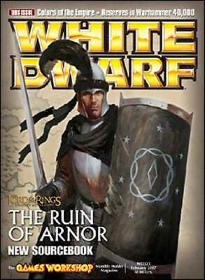 "GW White Dwarf #325 ""The Ruin of Arnor, The Colors of the Empire"" Mag EX"