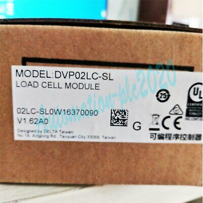 New PLC weighing module DVP02LC-SL 2 channel input one year warranty