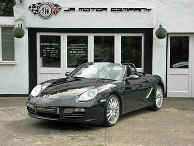 2005 Porsche Boxster 3.2 S Manual Basalt Black only 40000 Miles Huge Spec!