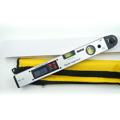 LCD 225 °Electronic Digital Goniometer Angle Finder Double Precision Level 400mm