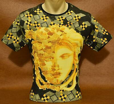 Brand New Men/'s Summer /'19 VERSACE Slim Fit T-SHIRT Size M 2XL XL L
