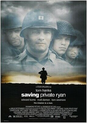 Saving Private Ryan Classic Movie Large Poster Art Print Maxi A0 A1 A2 A3