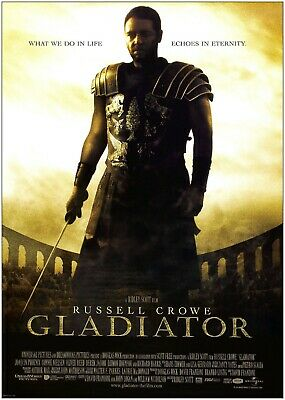 Gladiator Classic Movie Large Poster Art Print Maxi A0 A1 A2 A3 A4