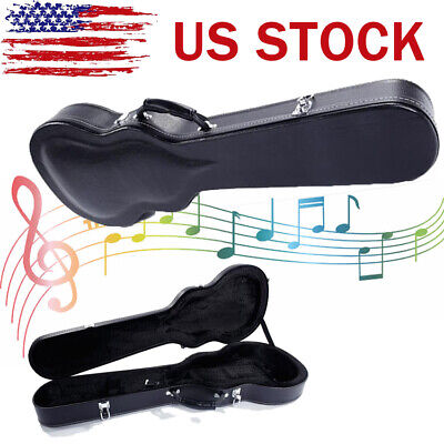 US High Grade Electric Guitar Box Hard Case For Strat Les Paul Casing Collect