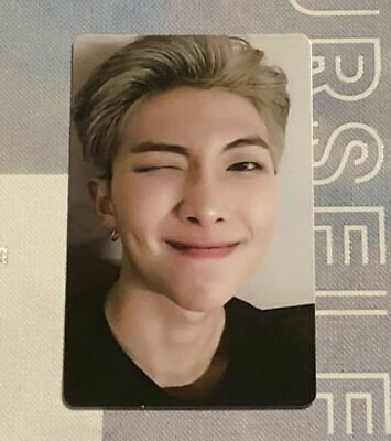 BTS - RM - Photocard - WORLD TOUR 'LOVE YOURSELF' EUROPE DVD