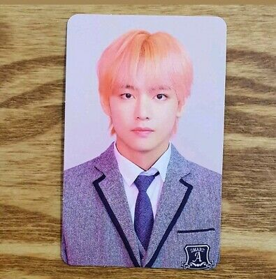 V Official Photocard BTS Love Yourself Answer L Version Taehyung