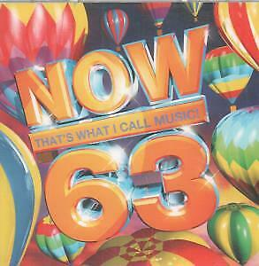 NOW THAT'S WHAT I CALL MUSIC 63 Various CD 42 Track 2 Disc Compilation Set Fea