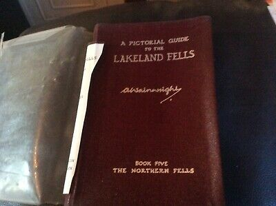 A Pictorial Guide to the Lakeland Fells by Wainwright book 5 5 th Impression Vel