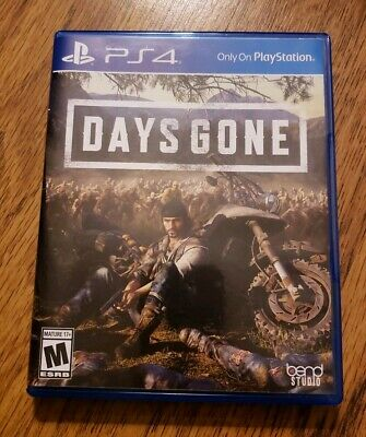 Days Gone  (Sony PlayStation 4, 2019) (PS4)