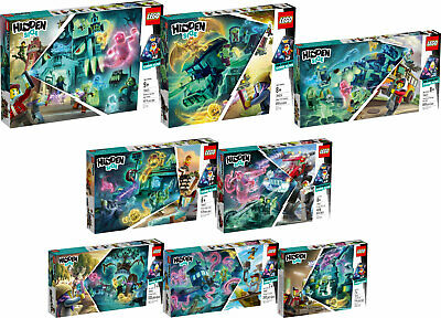 LEGO Hidden Side komplett 70425 70424 70423 70422 70421 70420 70419 70418  N8/19