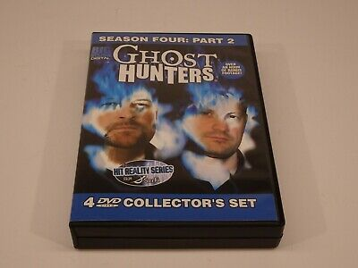 Ghost Hunters - Season 4: Part 2 (DVD, 2009, 4-Disc Set, Sci Fi)