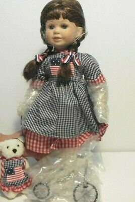 Star Spangled Susie Doll, Heritage Signature Collection,New in Box, July 4 Decor