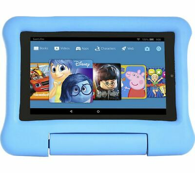 "AMAZON Fire 7"" Kids Edition Tablet (2019) - 16 GB, Blue - Currys"