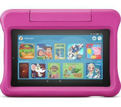 """AMAZON Fire 7 Kids Edition 7"""" Tablet (2019) - 16 GB, Pink - Currys"""