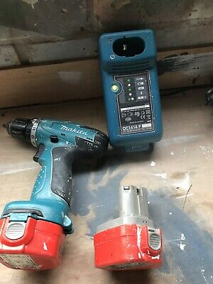 Makita 12v Cordless Drill.  With Two Batteries And A Charger. No Case