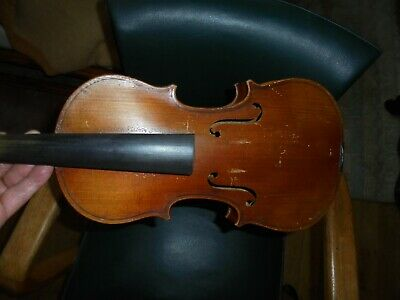 Violon Ancien De  Mirecourt 3/4 Copie De Stradivarius A Restaurer Long34,8Cm