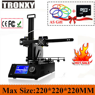High-precision Tronxy X2 3D Printer Mini LCD Screen Heated Build Plate Tinkerer