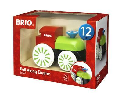 Pull Pull Along Wooden Toy - Engine - BRIO Free Shipping!