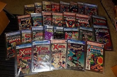 *SUPER AMAZING LOT OF 100 COMIC BOOKS + ONE CGC GRADED COMIC* Great Investment