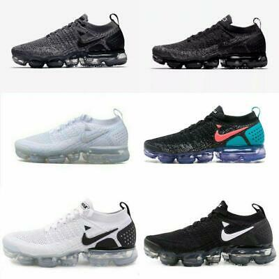 Mens Air Vapormax Flyknit Athletic Sneakers Running Sport Designer Trainer Shoes