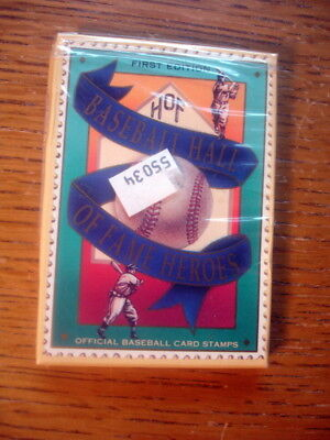 New Pack 12 Baseball Cards Hall of Fame HOF Heroes Cards 1992 Ruth Gehrig Cobb +