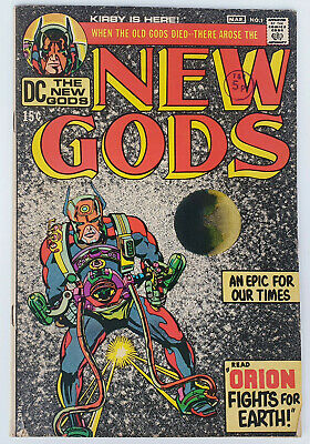 New Gods #1 Bronze Age DC Comics Jack Kirby 1st appearance of Orion F