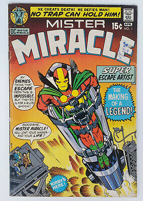 Mister Miracle #1 Bronze Age DC Comics Jack Kirby 1st Appearance F-