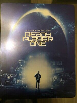 Ready Players One Steelbook 4k Blu-ray