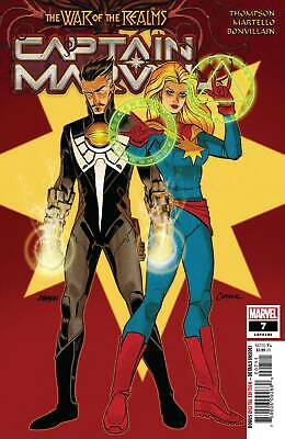 Captain Marvel #7 War of the Realms Tie In Marvel Comic 1st print 2019 NM