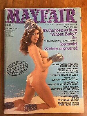 Mayfair Vol 19 No 1 (January 1984) - Vintage men's glamour magazine