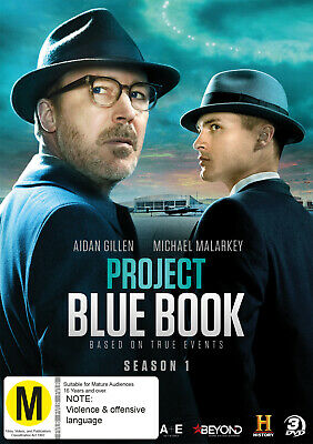 Project Blue Book - Season One [Non-Usa Format Pal Region 2 & 4] (3Dvd) Sealed
