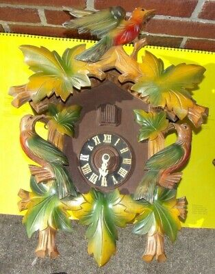 Antique Large Black Forest Germany Cuckoo Clock
