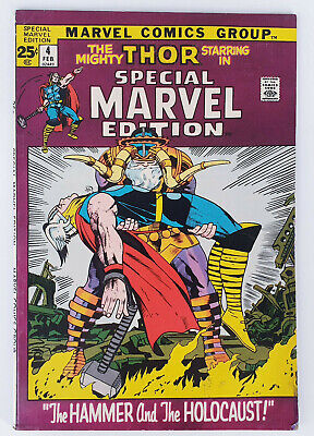 Marvel Special Edition #4 Thor Silver Age Marvel Comics Stan Lee Jack Kirby Vg/F