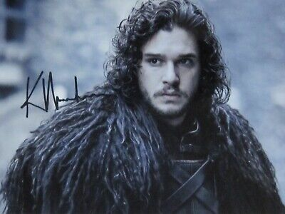KIT HARINGTON GAME OF THRONES Signed Autographed GREAT Photo - Coa