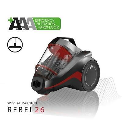 DIRT DEVIL Aspirateur sans sac cyclonique 3A+AA DD2226-3 special parquet - Rebel