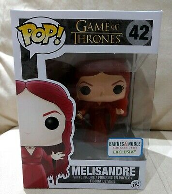 NEW Funko Pop Melisandre Game Of Thrones Translucent Barnes & Noble Exclusive