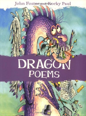 Dragon Poems, John Foster, Good Condition Book, ISBN 9780192763075