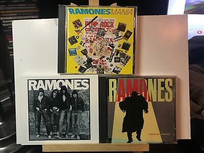 Pre-owned ~ The Ramones CD Lot of 3 (Pleasant Dreams, Ramones Mania, Ramones)