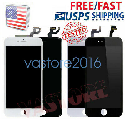 For iPhone 6S 6 7 8 Plus 6+ LCD Touch Screen Full Replacement With Button&Camera
