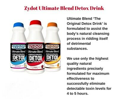 Zydot Ultimate Blend Detox 1 Hour Advanced Formula - 16 oz Powder - up to 80kg