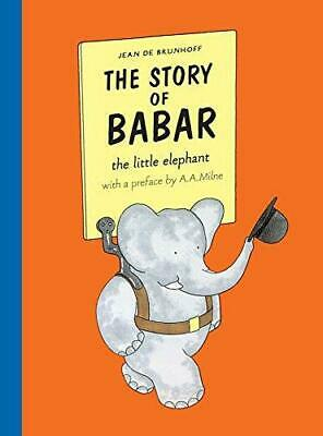 The Story of Babar, Brunhoff, Jean De, Good Condition Book, ISBN 9781405238182