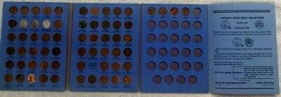 Complete Lincoln Wheat Penny Cent Collection Whitman Album 1941 - 1970 P D S Set