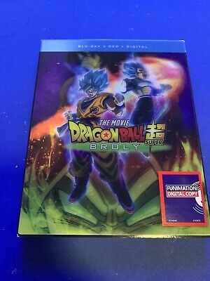 Dragon Ball Z Super Broly Blu-ray DVD VGC USED SLIPCOVER
