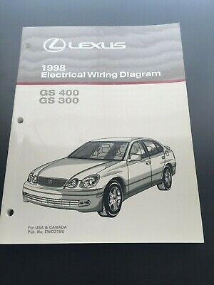 1998 lexus es 300 electrical wiring diagram manual $40 00 picclick 1998 Lexus GS Ad