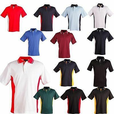 Mens Polo Shirtps73 Teammate Casual Wear New Size Large Color Black/Red Last One