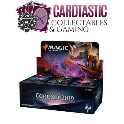 Magic the Gathering TCG Core Set 2019 Sealed Booster Box